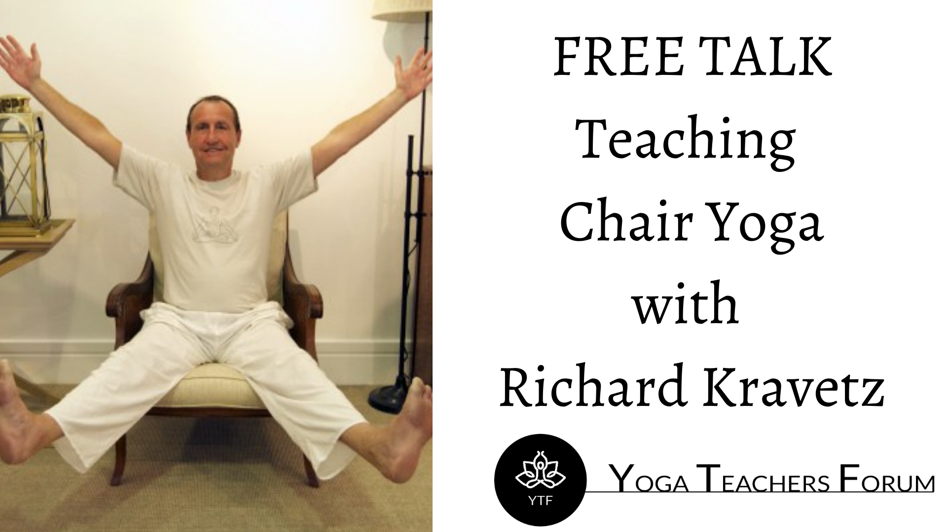 Teaching Chair Yoga for people with the ability to stand-3