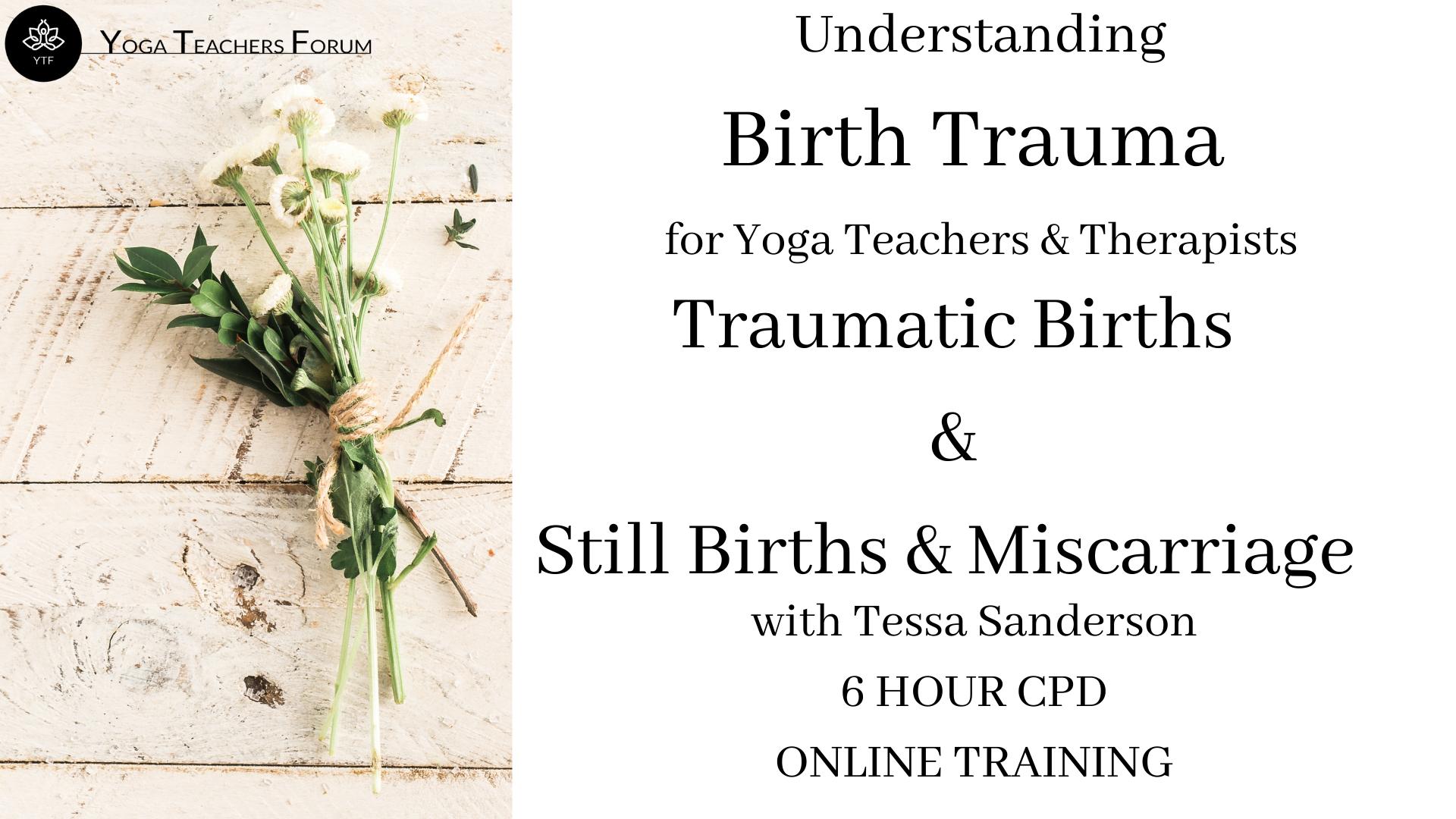 Birth Trauma for Yoga Teachers & Therapists-7