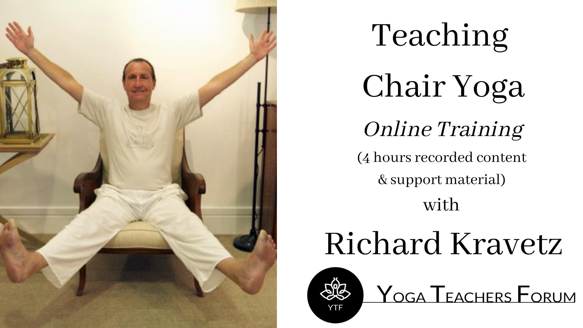 Teaching Chair Yoga Restricted Mobility Focus Sun 28 Feb 1000-1230 with Richard Kravetz-4
